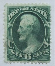 1873 US Official Dept of State O60 very lightly used