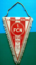 Football Club NÃœRnberg Nuremberg Germany Rare Pennant (30x20)cm; 1972's