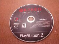 Sony PlayStation 2 PS2 Disc Only Tested Orphen Scion of Sorcery Ships Fast