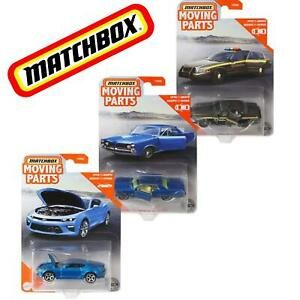 MATCHBOX MOVING PARTS NEW 2020 METAL PIECES 2016 CHEVY 2006 FORD 1962 JEEP CARS