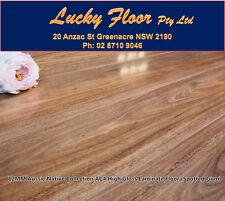 Sample: 12mm High Gloss AC4 Spotted Gum LAMINATE FLOORING /FLOATING FLOOR