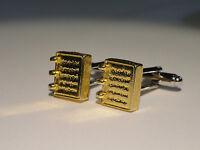 Golden Plates Cufflinks--Mormon LDS Latter-Day Saint Utah Joseph Smith Book