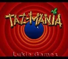 Taz-Mania - Fun SNES Super Nintendo Game