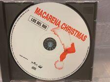 LOS DEL RIO Macarena Christmas (CD, Single)