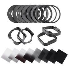 Complete Neutral Density Square 2 4 8 16 ND filter kit for Cokin P+filter holder