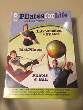 Pilates For Life With Elise Moore 3 DVD Set 2010 NIB Sealed FREE shipping