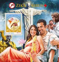 Sierra Leone 2016 MNH Zika Virus 1v S/S Medical Health Stamps