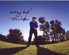 TOM WATSON signed autographed PGA GOLF photo (1)