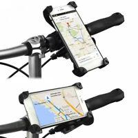 AD_ Durable Motorcycle Bike Bicycle Handlebar Mount Mobile Phone Holder Bracket
