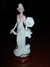Giovanni Collection Woman with Grammophone  Figurine