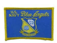 U.S. Military Usn Navy Blue Angels Flag Wholesale lot of 6 Iron On Patch