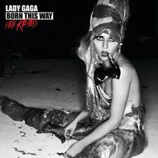 Lady Gaga – Born This Way - The Remix CD Streamline Records 2011 NEW