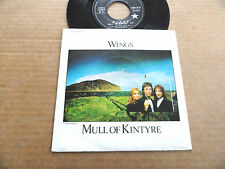 "DISQUE 45T DE WINGS "" MULL OF KINTYRE """