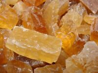 1000 Carat Lots of Unsearched Natural Citrine Calcite Rough + a FREE Faceted Gem