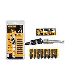 Dewalt 10 Piece Extreme Impact Torsion Screwdriving Set Magnetic Pivot DT70518T