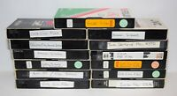 Lot of 13 Various Brands VHS Tapes Sold As Blank Media - Lot # 25