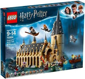 LEGO 75954 Harry Potter Hogwarts Great Hall - Brand New In Sealed Box