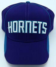 NBA Charlotte Hornets Adult Structured Curved Brim Adjustable Fit Cap Hat NEW!
