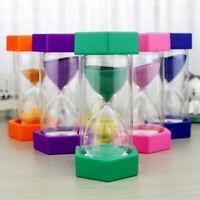 Sn _5 / 10/15/20/30min Sablier Sable Horloge Minuteur Cuisine Enfant Jeu T