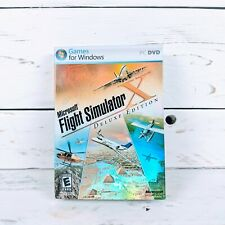 Microsoft Flight Simulator X Deluxe Edition NEW