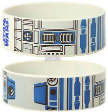 Star Wars R2D2 R2-D2 Droid Robot Rubber Bracelet Wristband Licensed Disney NEW