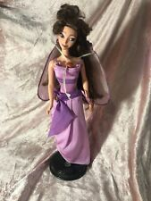 Vintage Disney Hercules Megara Meg Barbie Doll w Original Outfit Cape & Shoes