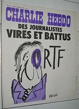 CHARLIE HEBDO N°211 02/12 1974 WOLINSKI CAVANNA CHORON REISER GEBE WILLEM CABU