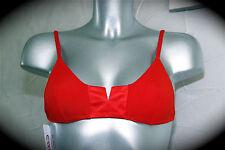 traje de baño bikini rojo (superior) ERES tcha tcha T 40 NUEVO CON ETIQUETA v