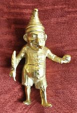 ANTIQUE - BRASS Mr PUNCH - EARLY 1900s