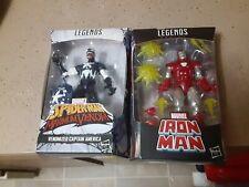 Marvel Legends Silver Centurion Iron Man Walgreens Venomized Captain America Lot