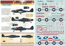 AEROMASTER DECALS 1/48 P-61A/B Black Widow 548th NFS 7th AF nose art (USAAF)