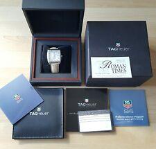 Da Uomo TAG Heuer Monaco automatico in scatola con documenti WW2113 Quadrante Diamond DOT