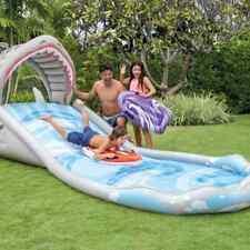 Intex Inflatable Water Slide Surf 'n Slide Backyard Garden Kids Play Centre