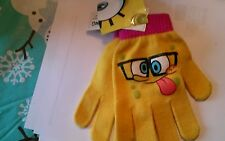 New with tags spongebob gloves winter