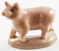 WADE PIG, WHIMSIE LAND SET 3, 1985 FARMYARD WITH ORGINAL BOX