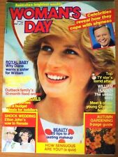 Woman's Day Magazine - March 5, 1984 - Princess Diana, Elton John, William Holde