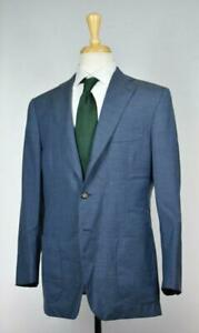 CESARE ATTOLINI 2019 Mens 3 Roll 2BTN Super 130's Wool Cashmere Suit 40 R US New