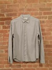 Vintage Calvin Klein Collection Men's Shirt Ultra Sleek Minimal Western Style