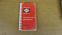 Electron Tubes CBS Semiconductors Technicians Handbook 1960 Guide