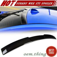 Carbon FOR Subaru WRX STI Saloon V Style Sport Roof Spoiler 2016 New