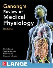 NEW : Ganong's Review of Medical Physiology by Kim E. Barrett **INTL 25th ED**