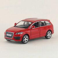 1:36 Audi Q7 V12 SUV Model Car Metal Diecast Gift Toy Vehicle Kids Pull Back Red