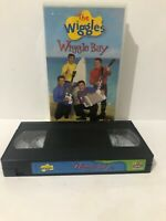 The Wiggles Wiggle Bay VHS Fast & Free Aus Shipping