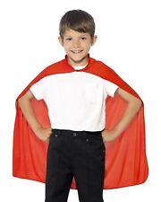 Red Cape For Children's Superhero Theme
