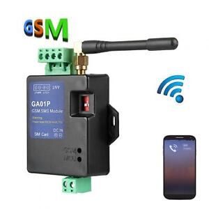 GA01P GSM Mini Smart Remote Power Failure Alert SMS Calling Alarm Security New