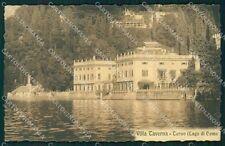 Como Torno Lago di Como Villa Taverna cartolina XB2125