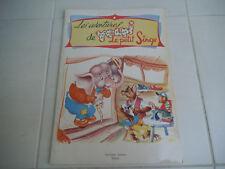 """Ancien livre enfant """"Les aventures de Youpi Le petit Singe"""" édition Hemma"""