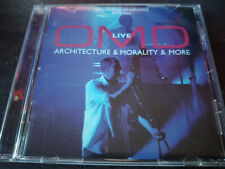 ORCHESTRAL MANOEUVRES IN THE DARK (OMD) - Live (Architecture & Morality Tour)CD