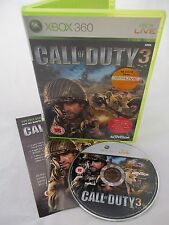Xbox 360 Console Game - Call of Duty 3