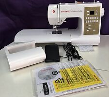 SINGER 7469Q CONFIDENCE QUILTER SEWING MACHINE Authorized Singer Dealer